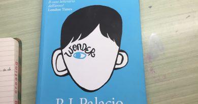 Wonder di R.J.Palacio, pubblicato da Giunti nel 2012